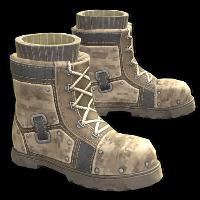 Desert Raiders Boots