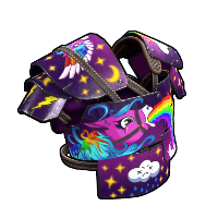 Rainbow Pony Vest