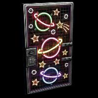 Outer Planets Metal Door