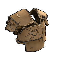 Cardboard Vest Rust Skin