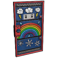 Weather Armored Door