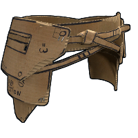 Cardboard Kilt Rust Skin