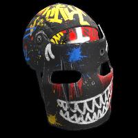 Bombing Facemask Rust Skin