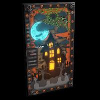 Halloween House Door Rust Skin