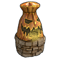 Jack-o'-lantern Furnace Rust Skin