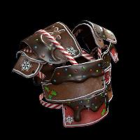 Mr. Gingerbread Vest Rust Skin