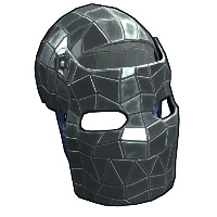 Shattered Mirror Facemask Rust Skin