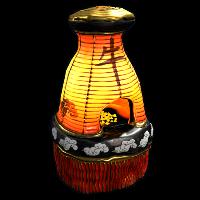 New Year Ox furnace Rust Skin