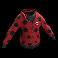 Ladybug Cosplay Hoodie Rust Skin