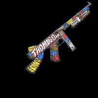 Bombing Thompson Rust Skin