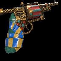 Pharaoh's Revolver Rust Skin