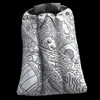 Doodle Sleeping Bag Rust Skin