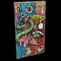 Eye Scream Door Rust Skin