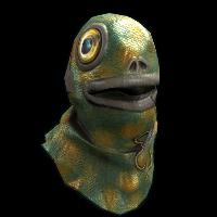 Fish Head Rust Skin