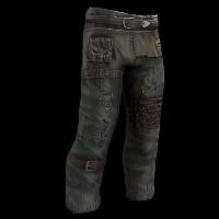 Fish Pants Rust Skin