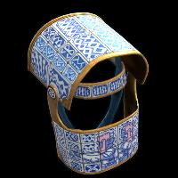 Porcelain Helmet Rust Skin