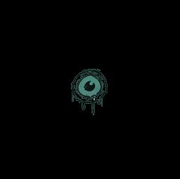 Sealed Graffiti   Eye Spy (Frog Green)