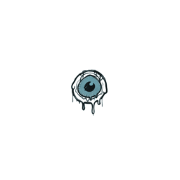 Sealed Graffiti   Eye Spy (Wire Blue)