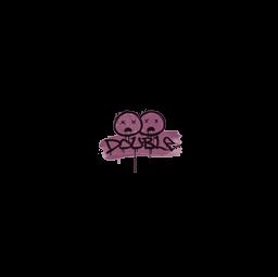Sealed Graffiti | Double (Princess Pink)