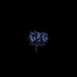 Sealed Graffiti | GTG (SWAT Blue)