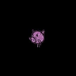Sealed Graffiti | Piggles (Bazooka Pink)