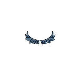 Sealed Graffiti | Take Flight (Monarch Blue)