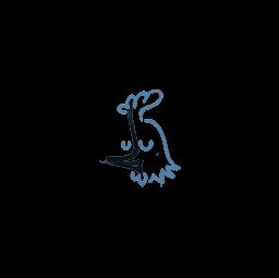 Sealed Graffiti | Recoil AK-47 (Monarch Blue)