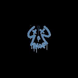 Sealed Graffiti | Recoil AWP (Monarch Blue)