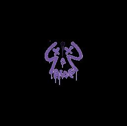 Sealed Graffiti | Recoil AWP (Monster Purple)