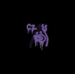 Sealed Graffiti | Recoil CZ-75 (Monster Purple)