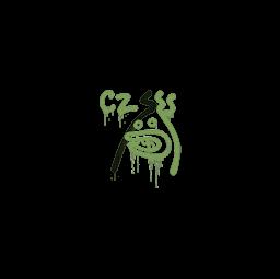 Sealed Graffiti | Recoil CZ-75 (Battle Green)