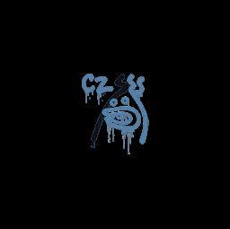 Sealed Graffiti | Recoil CZ-75 (Monarch Blue)