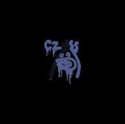 Sealed Graffiti | Recoil CZ-75 (SWAT Blue)