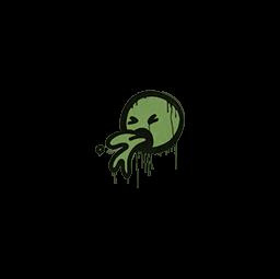 Sealed Graffiti | Puke (Battle Green)