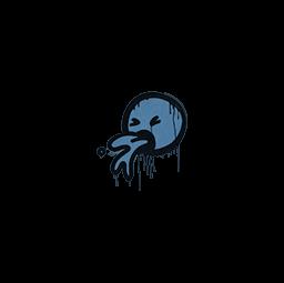 Sealed Graffiti | Puke (Monarch Blue)