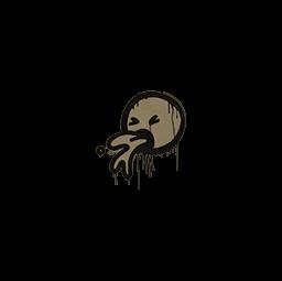 Sealed Graffiti | Puke (Dust Brown)