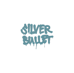 Sealed Graffiti | Silver Bullet (Wire Blue)