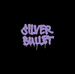 Sealed Graffiti | Silver Bullet (Violent Violet)