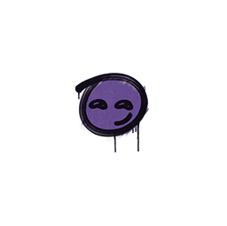 Sealed Graffiti | Smirk (Monster Purple)