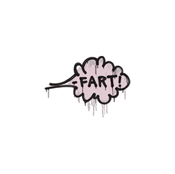 Sealed Graffiti | Fart (War Pig Pink)