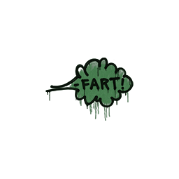 Sealed Graffiti | Fart (Jungle Green)
