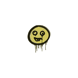 Sealed Graffiti | Goofy (Tracer Yellow)