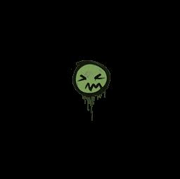 Sealed Graffiti | Grimace (Battle Green)
