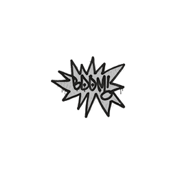 Sealed Graffiti | BOOM (Shark White)