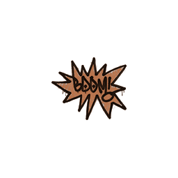 Sealed Graffiti | BOOM (Tiger Orange)