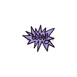 Sealed Graffiti | BOOM (Violent Violet)