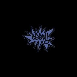 Sealed Graffiti | BOOM (SWAT Blue)