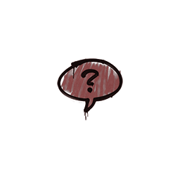 Sealed Graffiti | Question Mark (Brick Red)