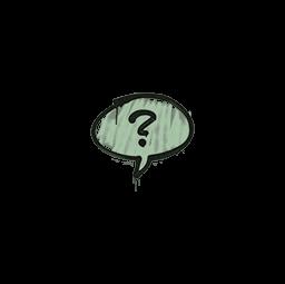 Sealed Graffiti | Question Mark (Cash Green)