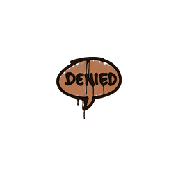 Sealed Graffiti | Denied (Tiger Orange)